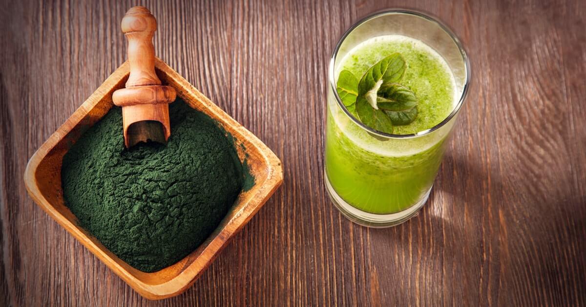 Riboflavin vegan Spirulina Algen