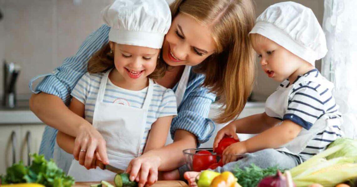 Vegane Familie vegan ernähren
