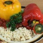 gefüllte Paprika mit Amaranth und Tofu Rezept