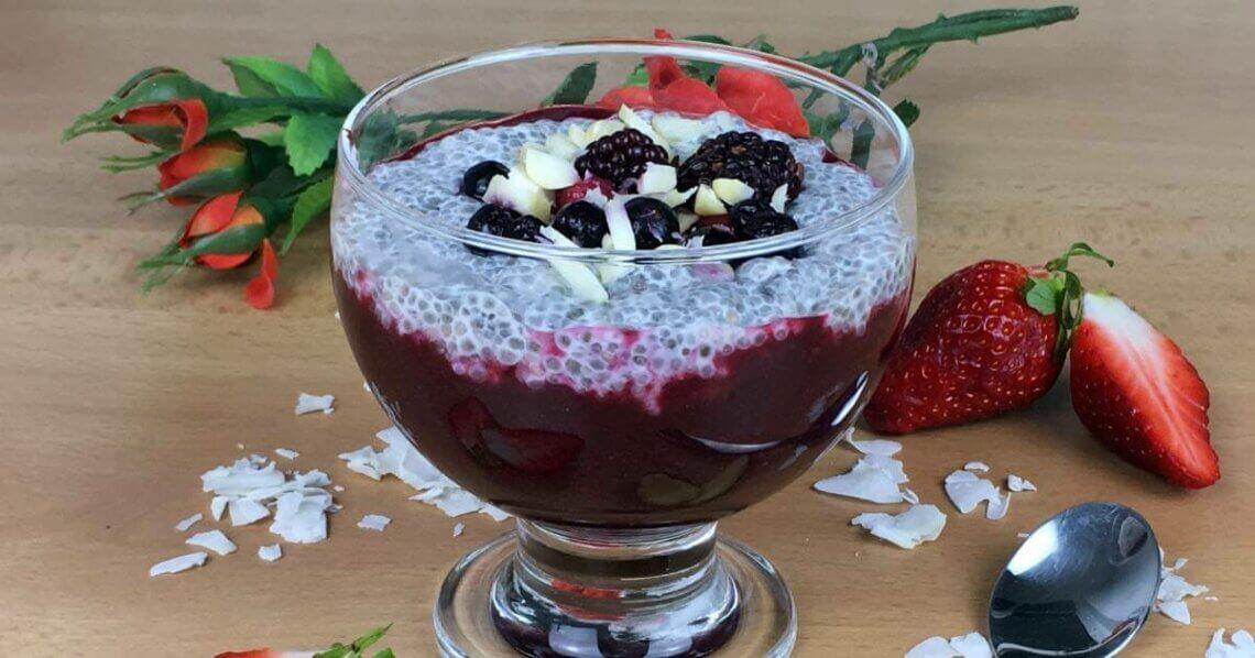 Chia-Pudding Rezept