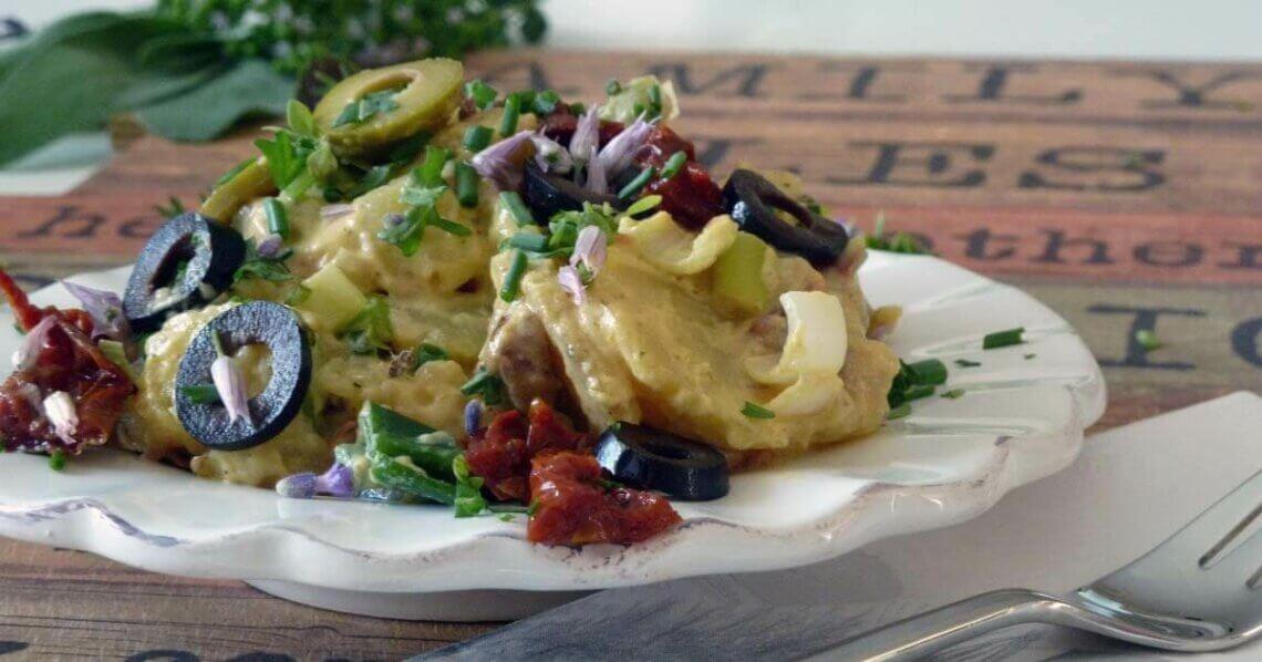 Mediteraner Kartoffelsalat