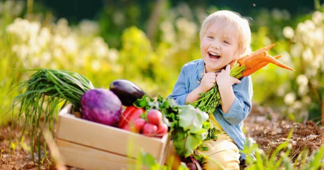 Vegane Ernährung für Kinder