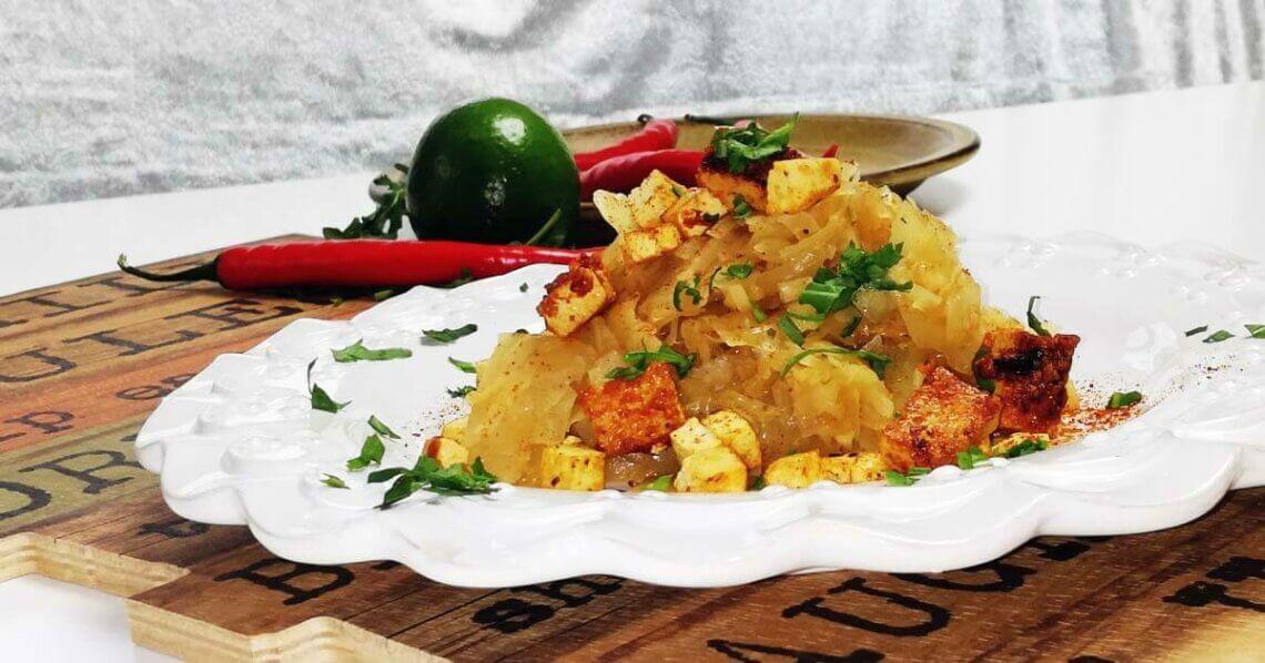 Weiskohl-Curry mit Nussaroma