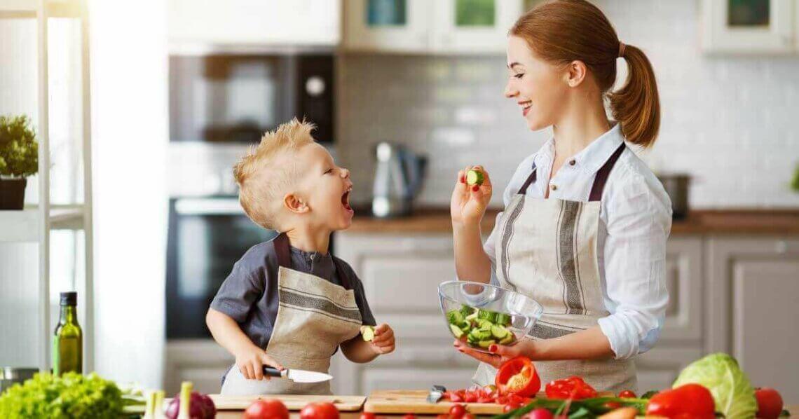 Vegane Ernährung für Mutter und Kind