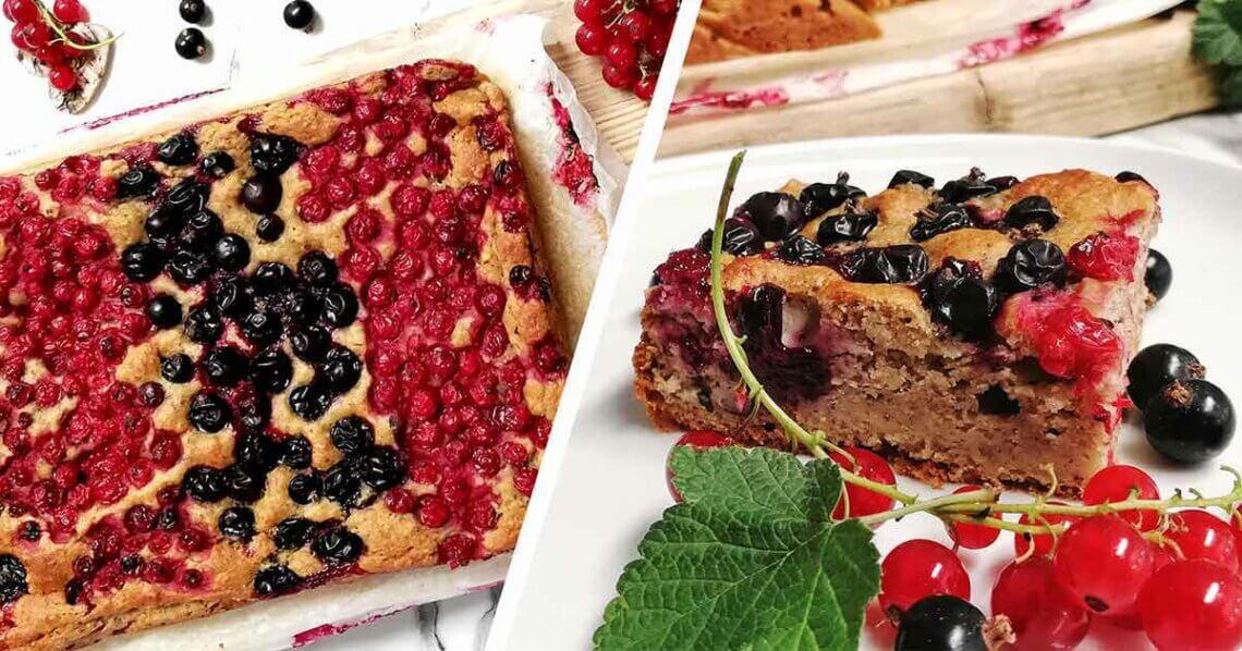 Fruchtiger Beerenkuchen vom Blech