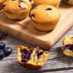 Vegane Bananen-Himbeer-Muffins