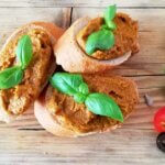 Veganer Tomaten-Basilikum-Aufstrich
