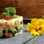 Veganes Risotto mit Grünkohl