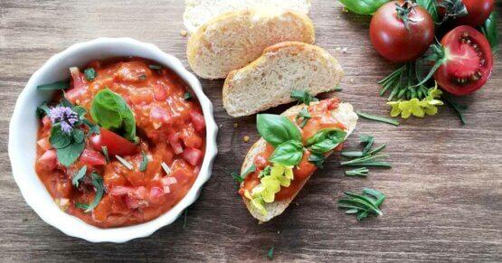 Tomatenaufstrich